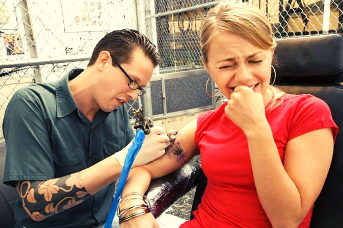 smerte tatovering