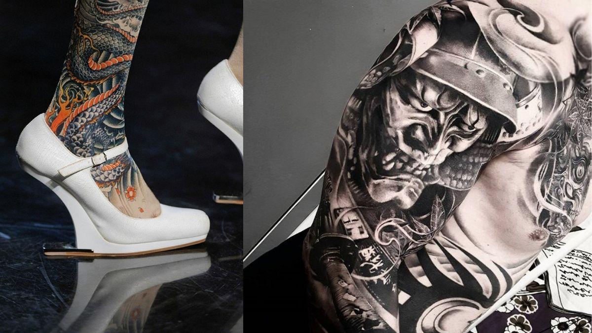 Japanske motiv tatovering