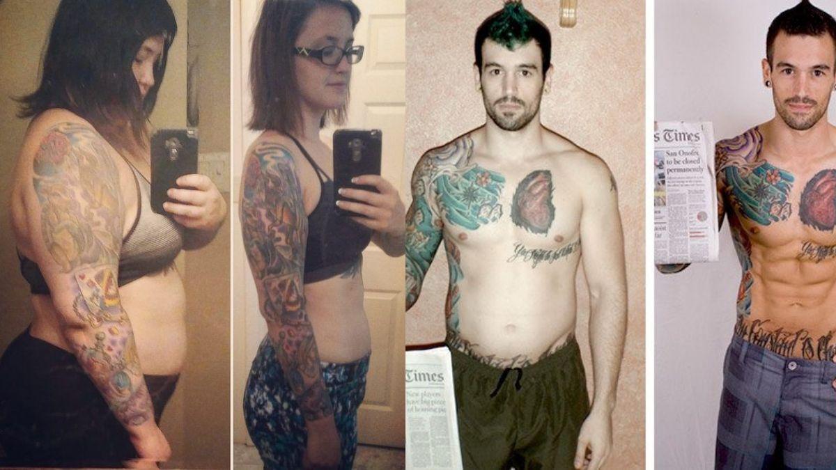 slanking påvirker tatovering