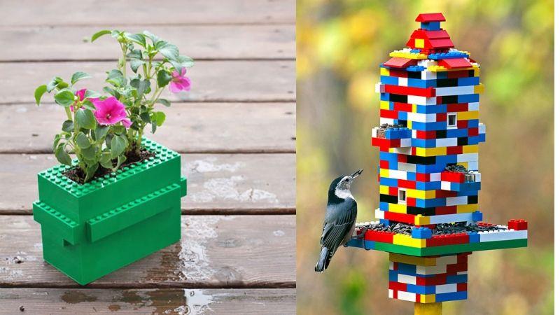 kreativ bruk av legoklosser
