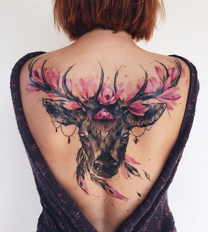 På ryggen tatovering 100 beste